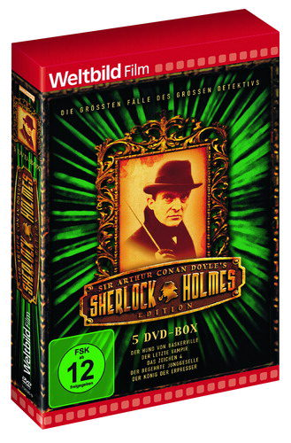 Sherlock Holmes DVD Set