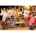 Weihnachtslesung auf dem Salzburger Christkindlmarkt