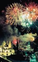 Feuerwerk über Salzburg © Tourismus Salzburg