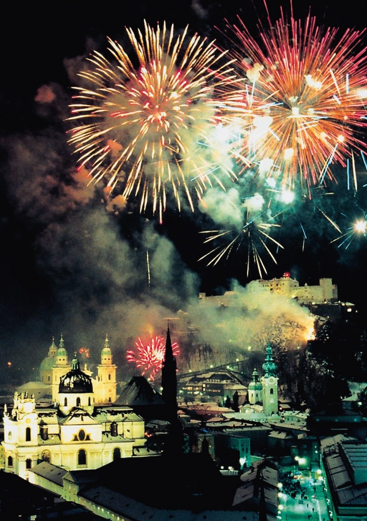Feuerwerk &#252;ber Salzburg  Tourismus Salzburg