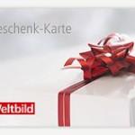 Gutscheine von Weltbild: Die neue Geschenk-Karte ist da!
