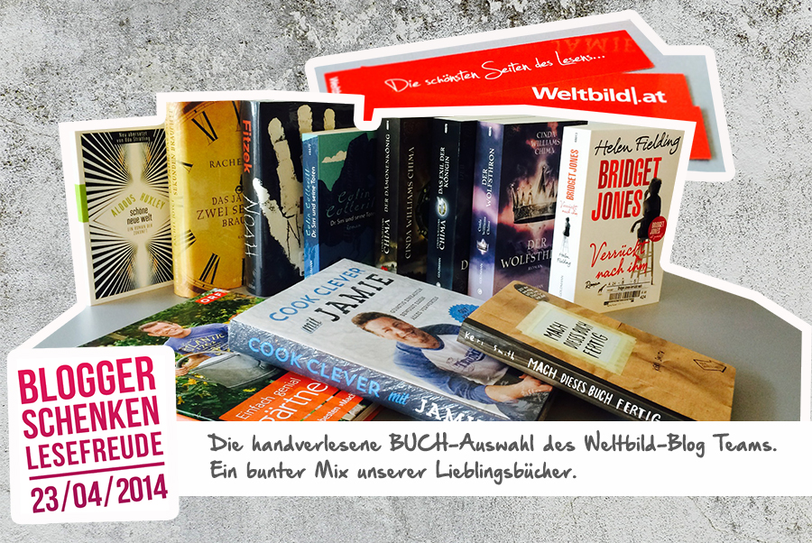 Blogger schenken Lesefreude: Die Buchauswahl des Weltbild Blog Teams