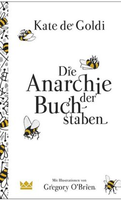 Die Anarchie der Buchstaben, Jugendbuch von Kate de Goldi